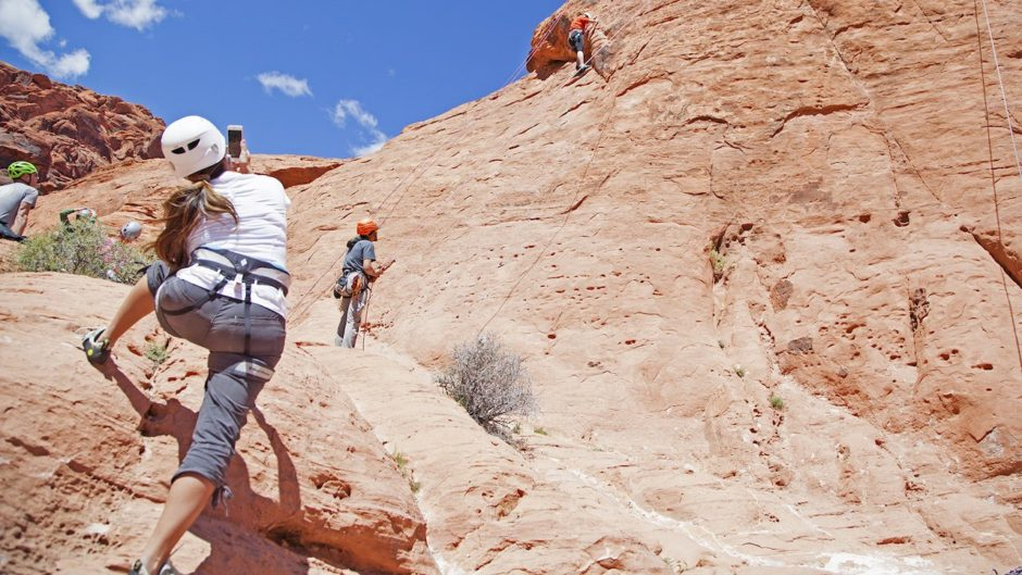 Red Rock Rappelling Nevada