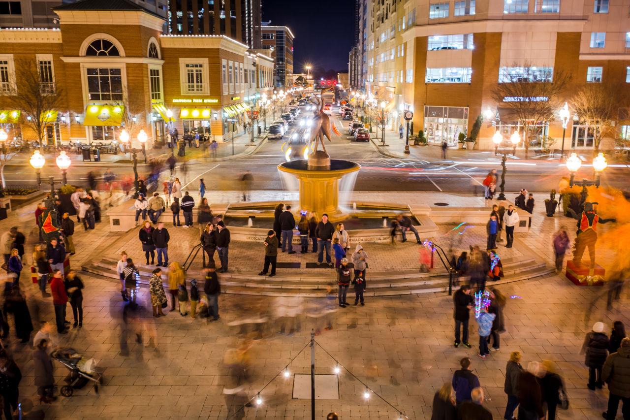 Town Center Evening