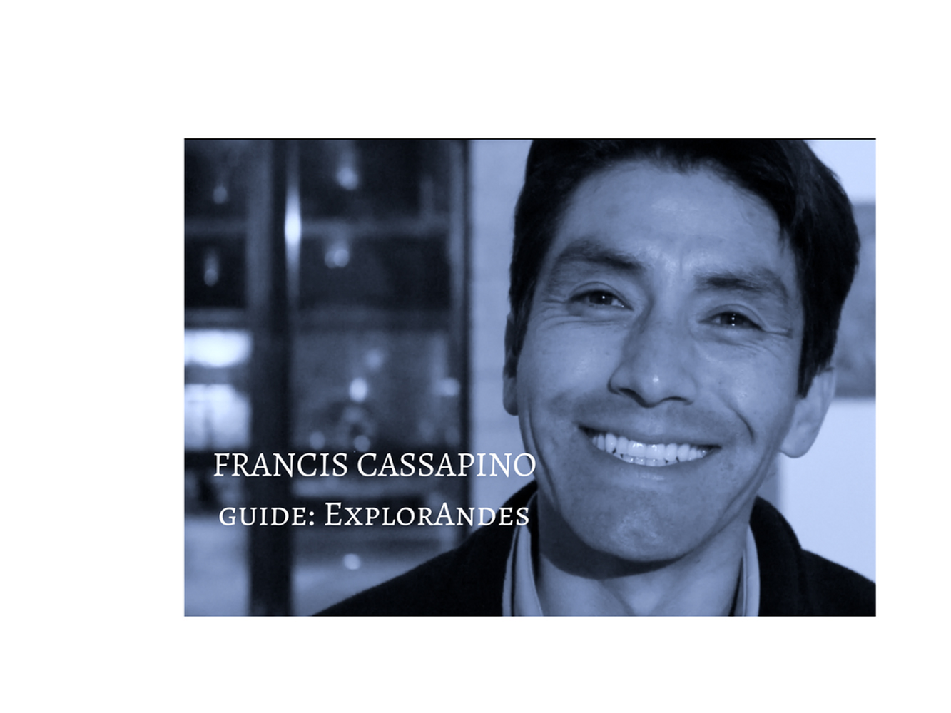 francis title card