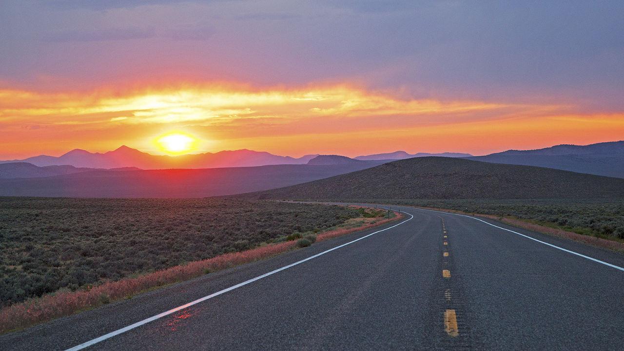 Loneliest Highway in Nevada
