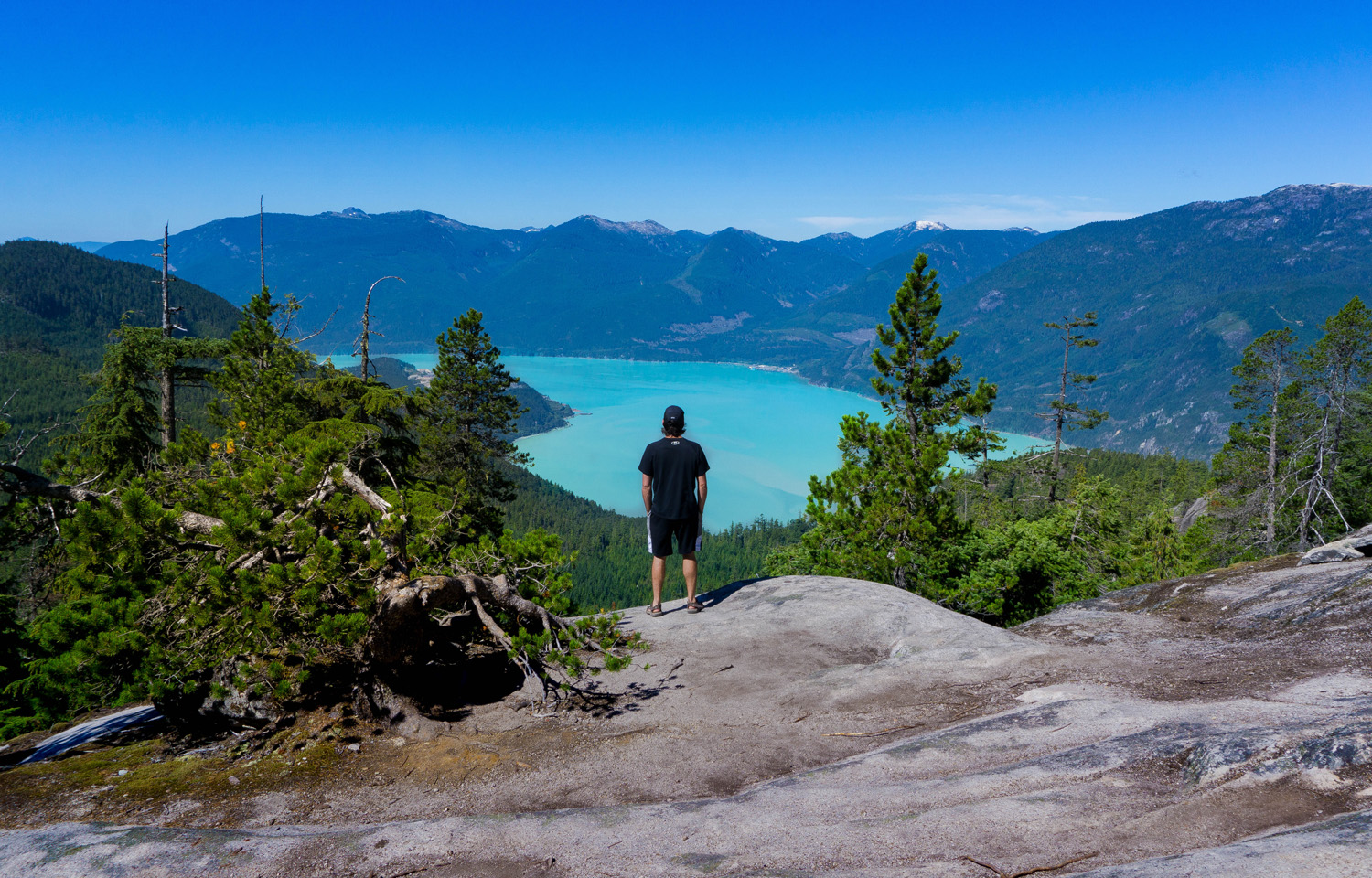 Take the Sea To Sky Gondola up to the summit of Squamish where you can explore hiking trails, a suspension bridge and more.If you're feeling adventurous, hike the StawamusChief to the top.