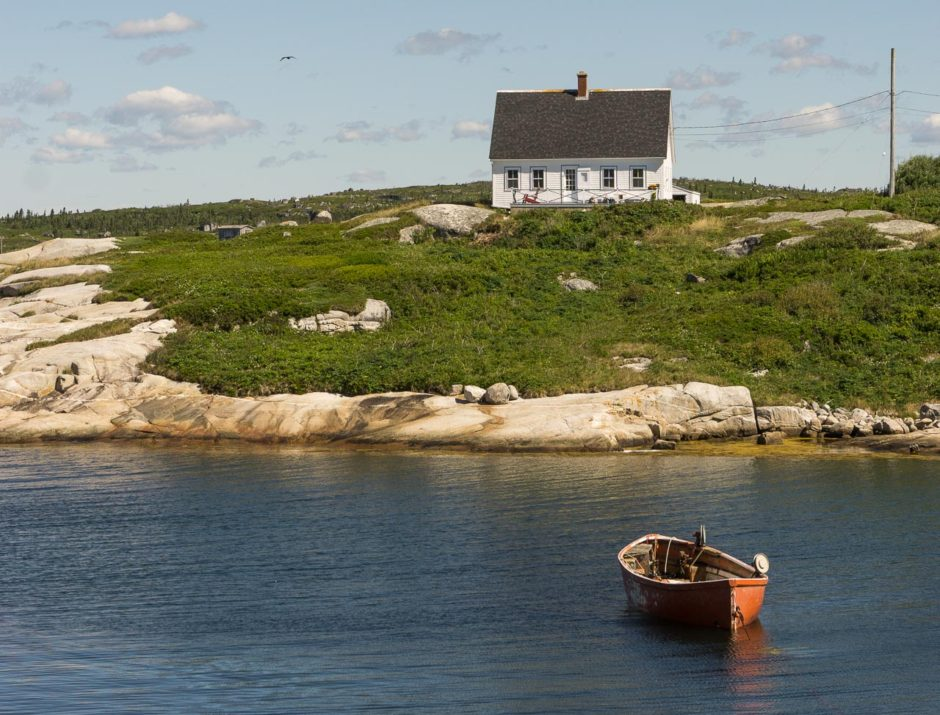 Peggy's Cove. Photo by author.