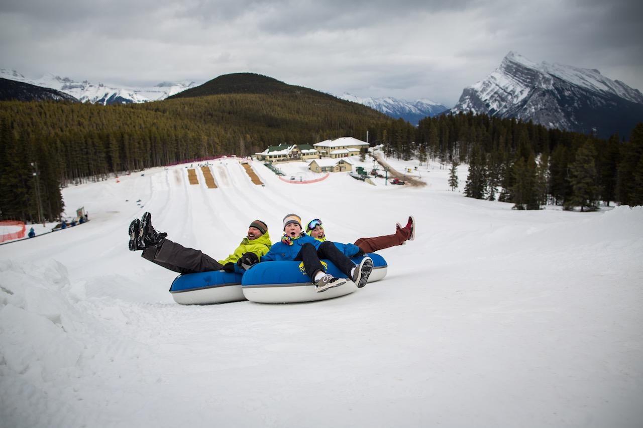 Tubing Banff