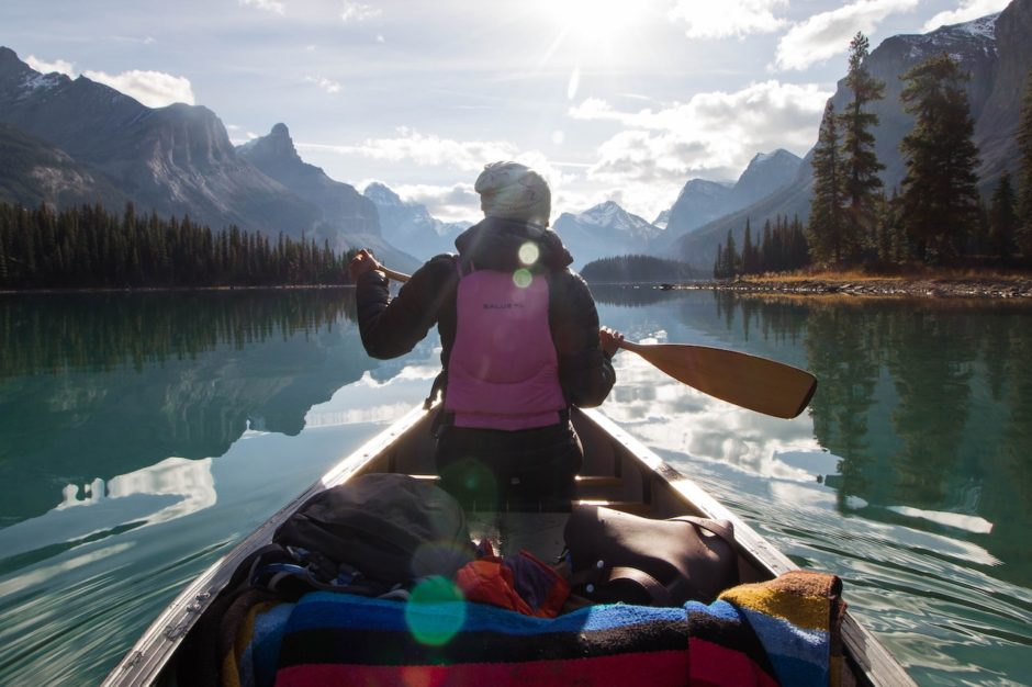Kayak Jasper NP