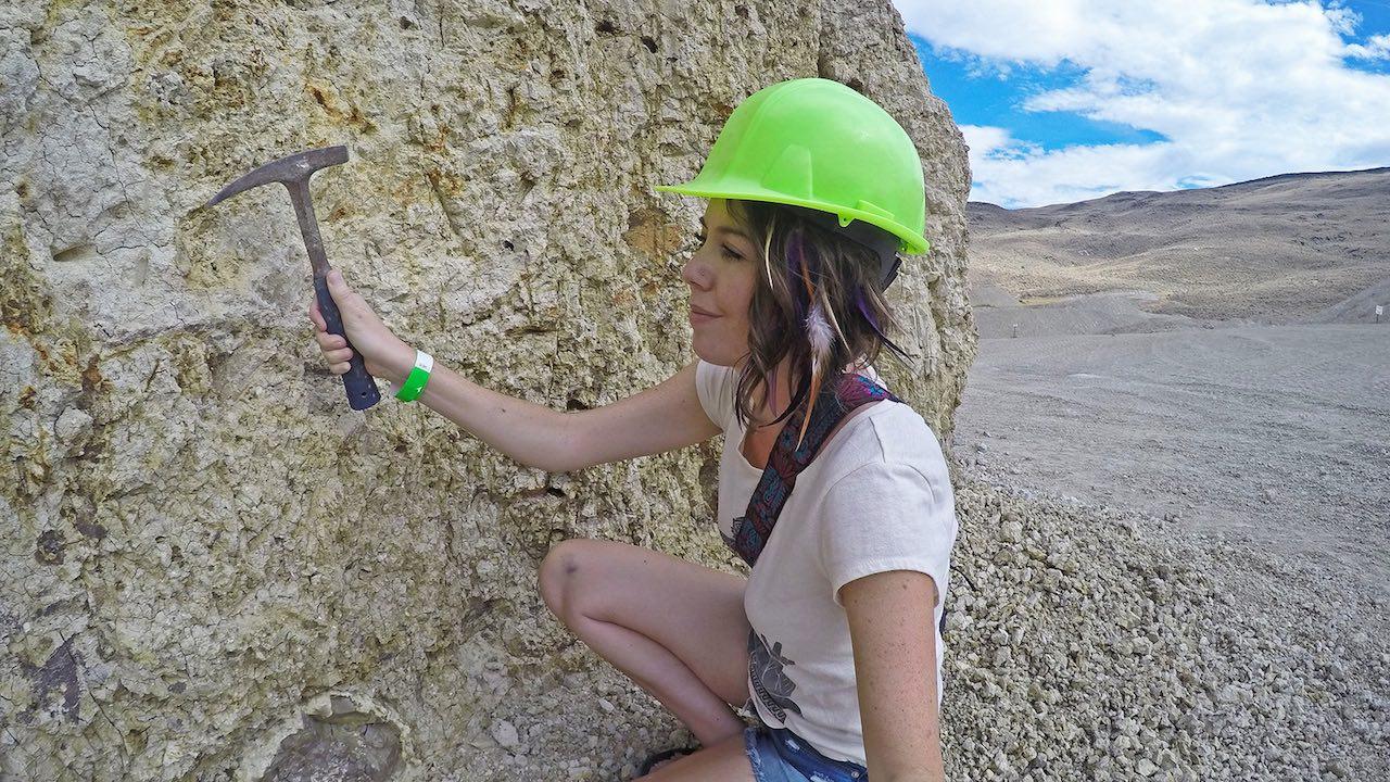 Opal Mining Nevada