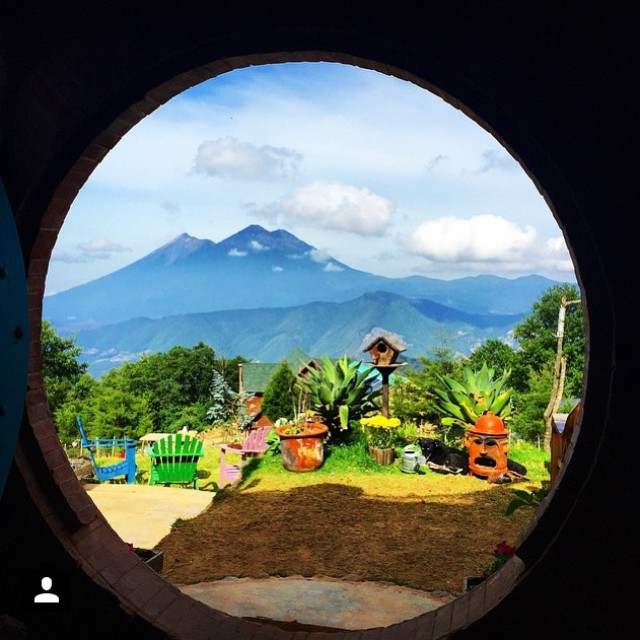 Check out this eco-friendly hobbit house you can stay in when visiting Guatemala
