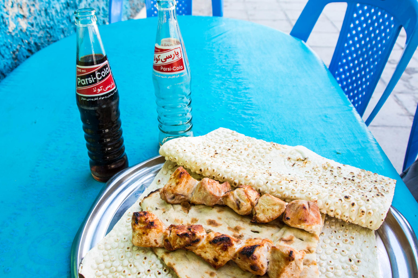 Be prepared to OD on kebabs while in Iran, possibly involuntarily.