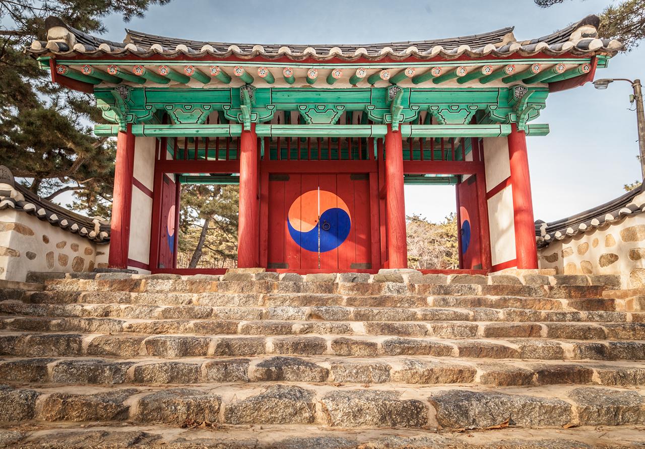 Korea's classical color scheme – Seosan, Chungnam province