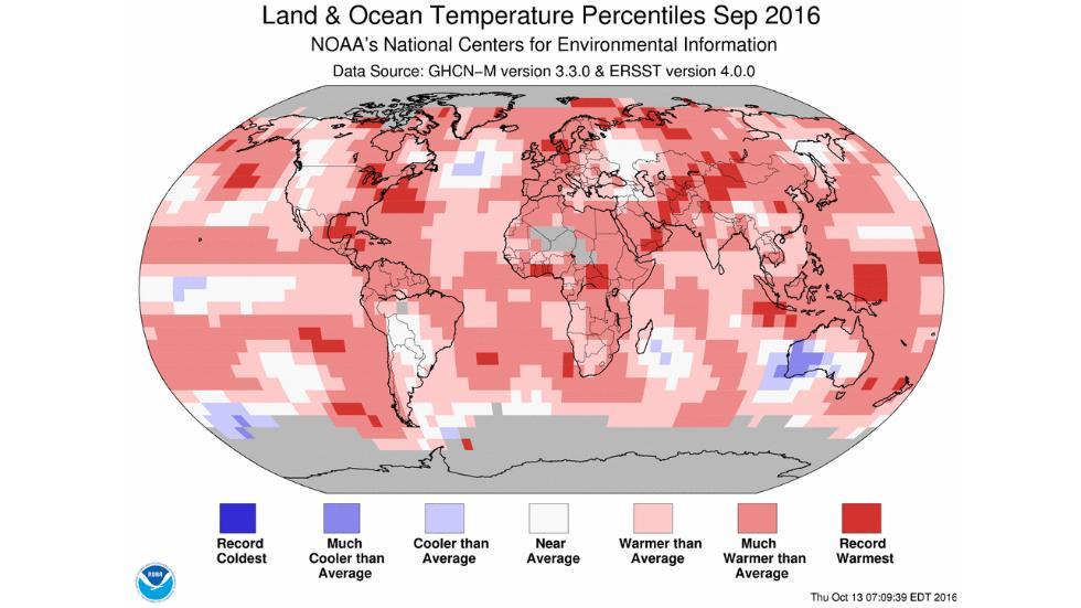 warmest month so far