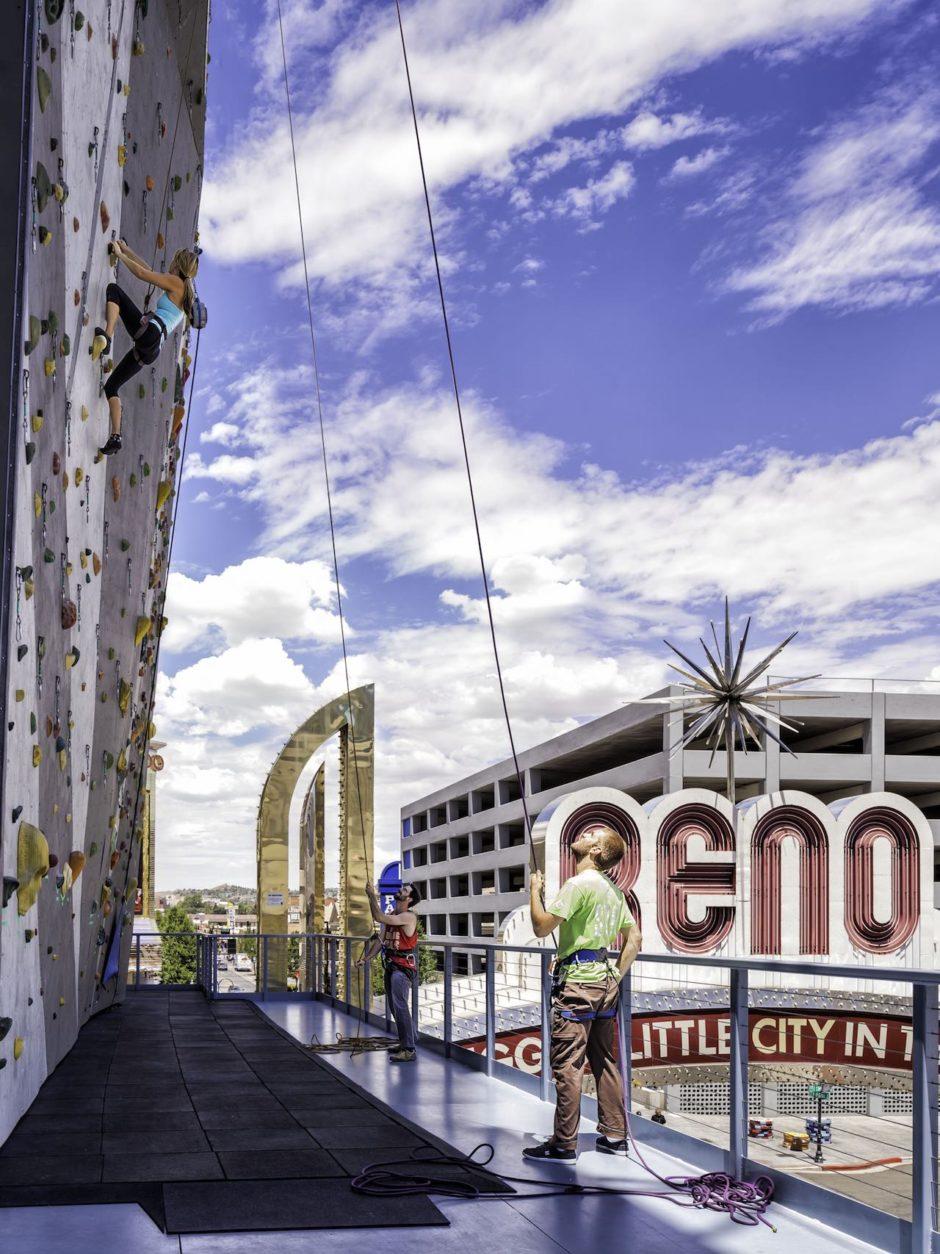 Basecamp climbing wall Reno don't re use