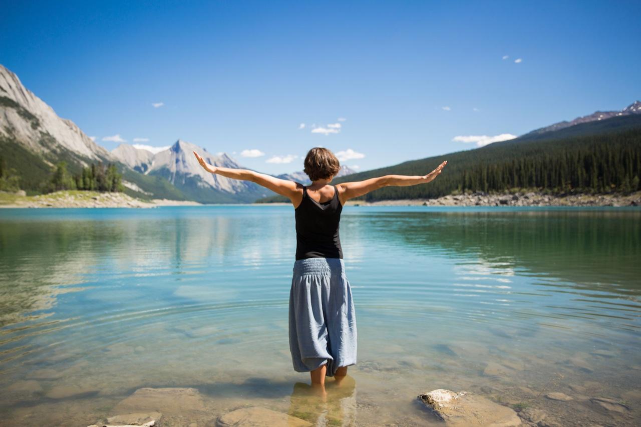 Medicine Lake Jasper Canada