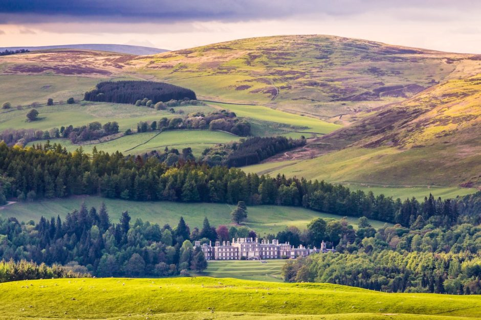Bowhill House Scotland don't re use