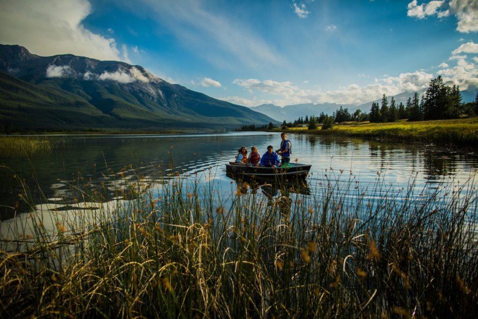 Talbot Lake summer Jasper