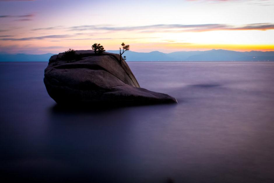 Bonsai Rock, Lake Tahoe