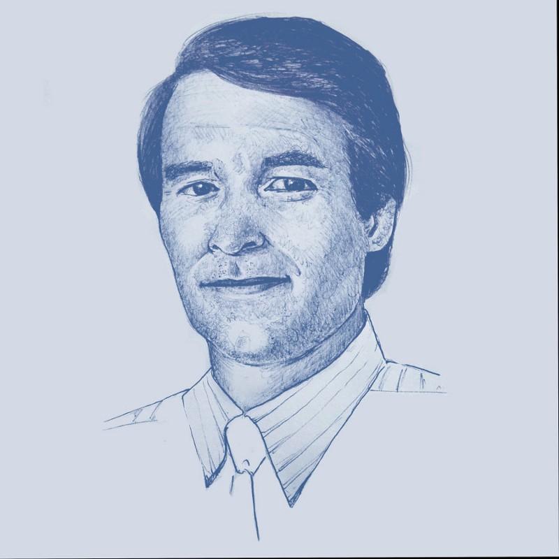 Dr. Phil Kennedy/ Illustration by Daniel Marin Medina