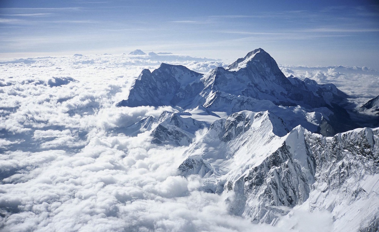 Mount Everest with daughter