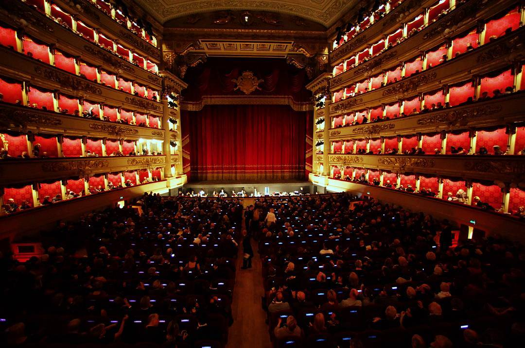 Photo: @teatroallascala