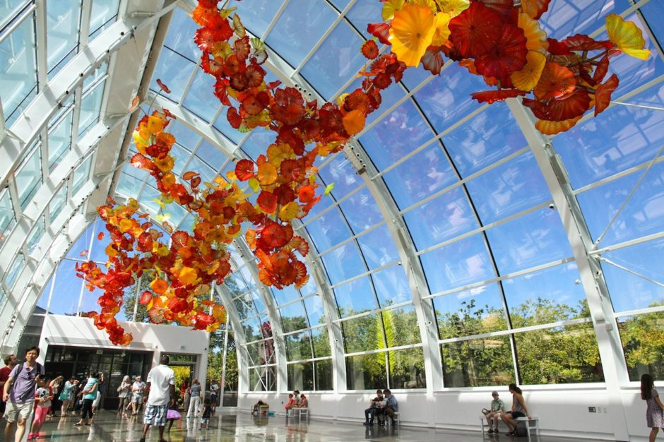 Chihuly Garden and Glass Seattle don't re use