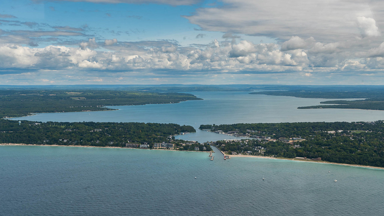 Lake Charlevoix Michigan don't re use