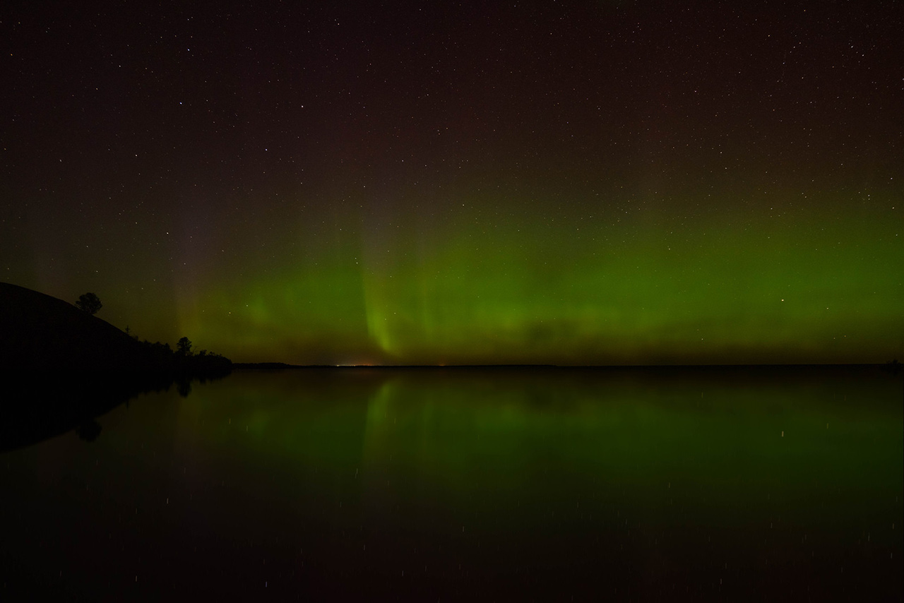Northern lights Michigan don't re use