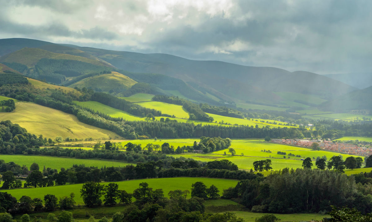 Discover Scotland: The Scottish Borders