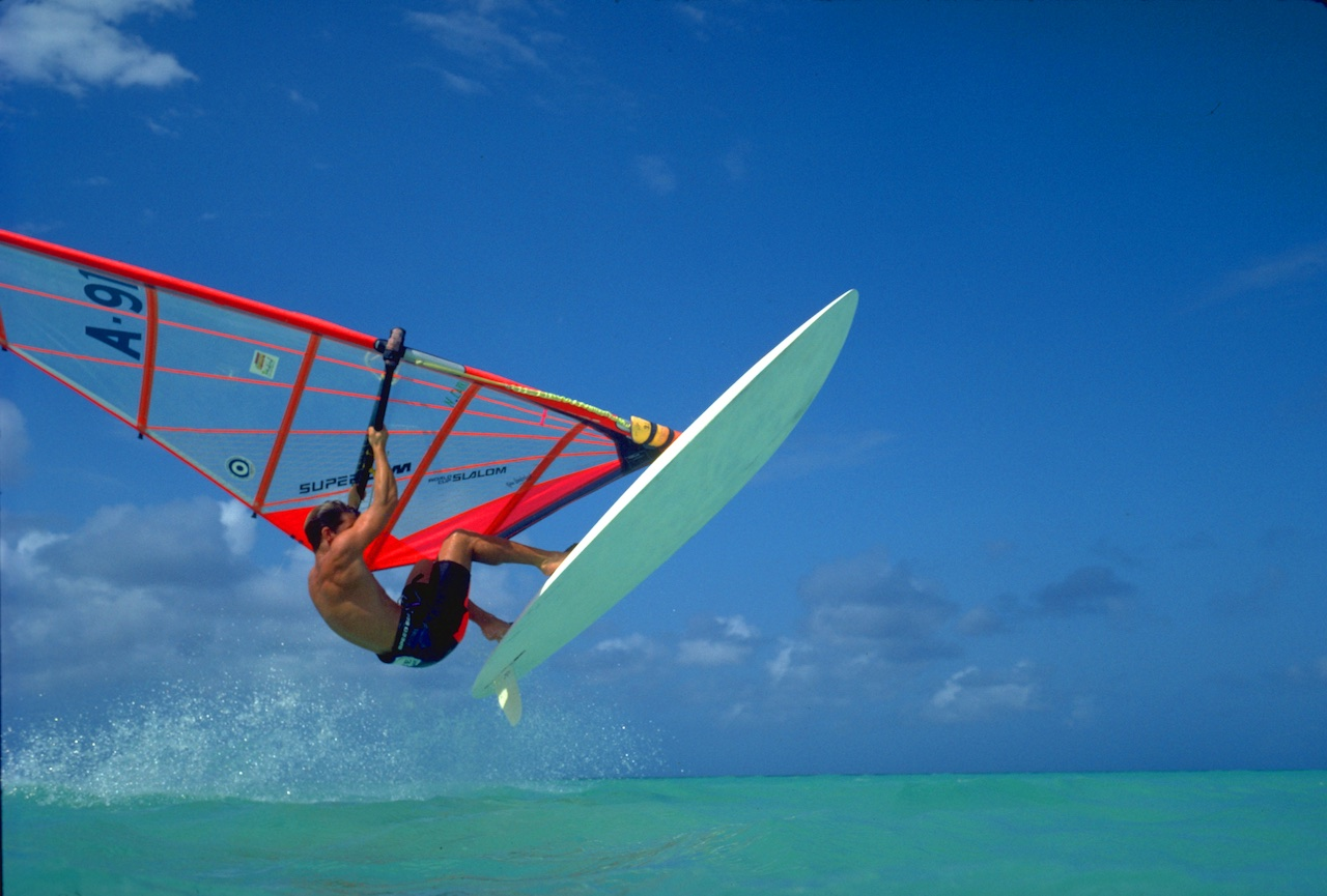 Windsurfing Aruba don't re use