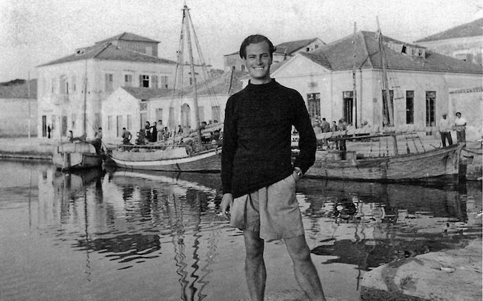 Patrick Leigh Fermor in Greece, 1946. Photo / NLS