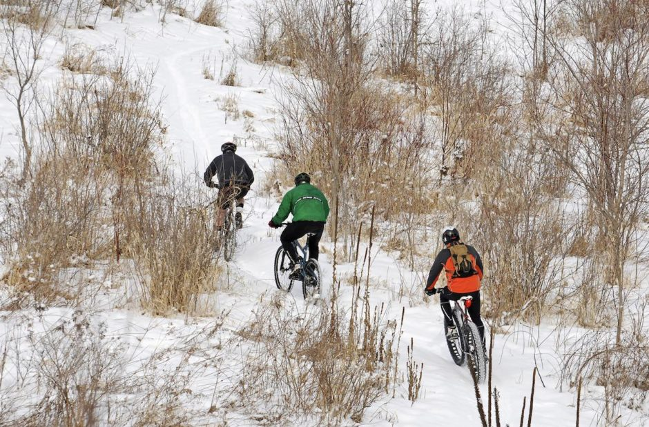 Frozen Frolic Fat Bike Race