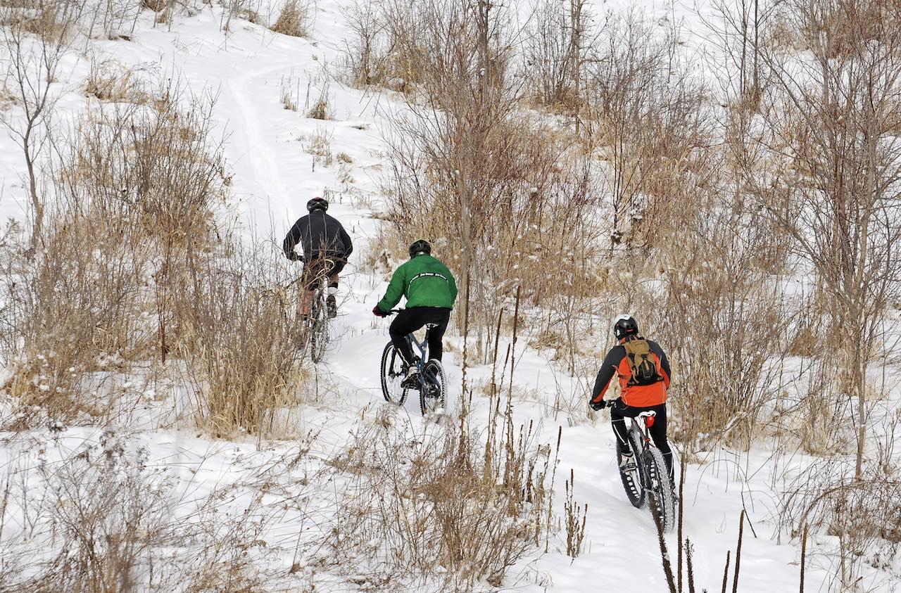 Frozen Frolic Fat Bike Race
