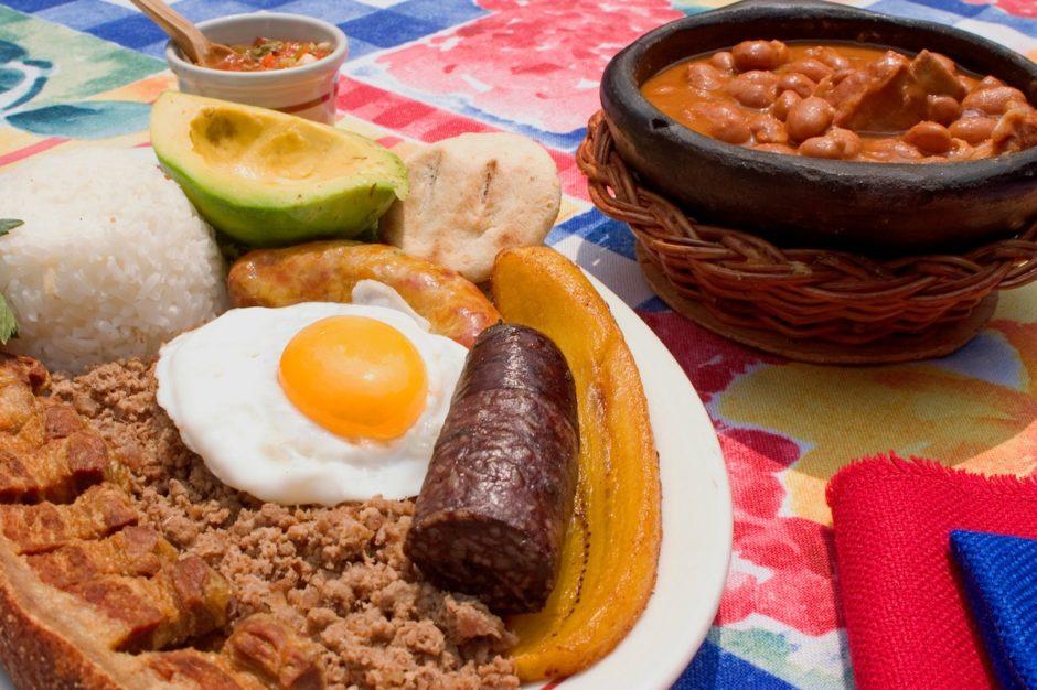 Medellin food