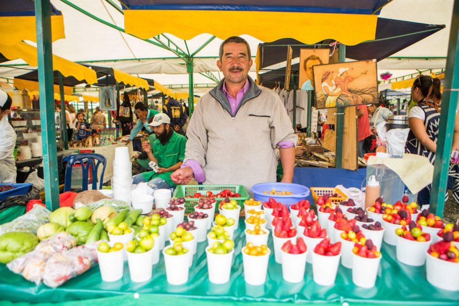 Medellin fruit stand