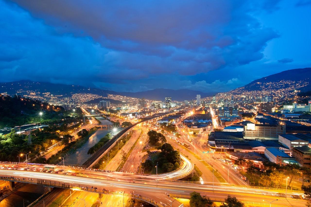 Medellin lights