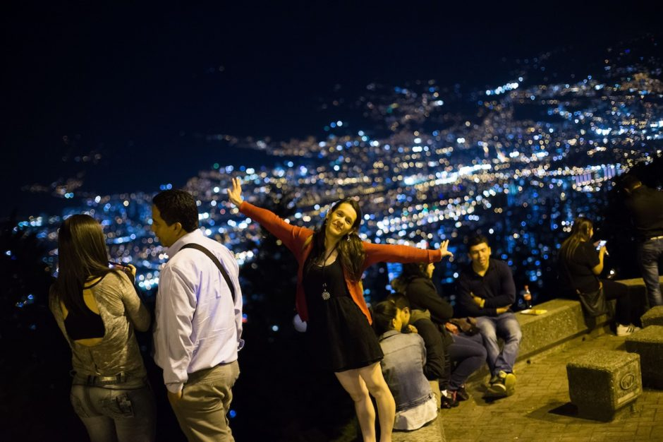 Medellin Mirador de las Palmas