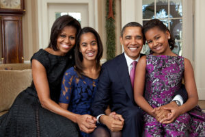 Let's take a minute to recognize: The Obamas were the first open feminists in the White House