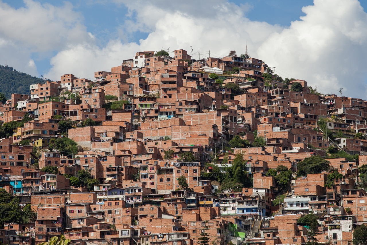 Colombian neighborhood