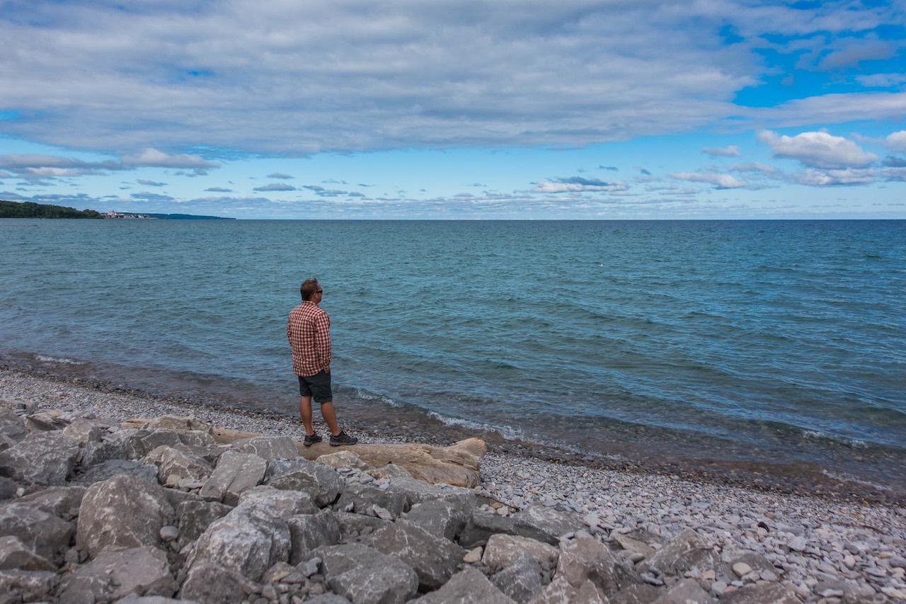 Underwater shrine Lake Michigan don't re use