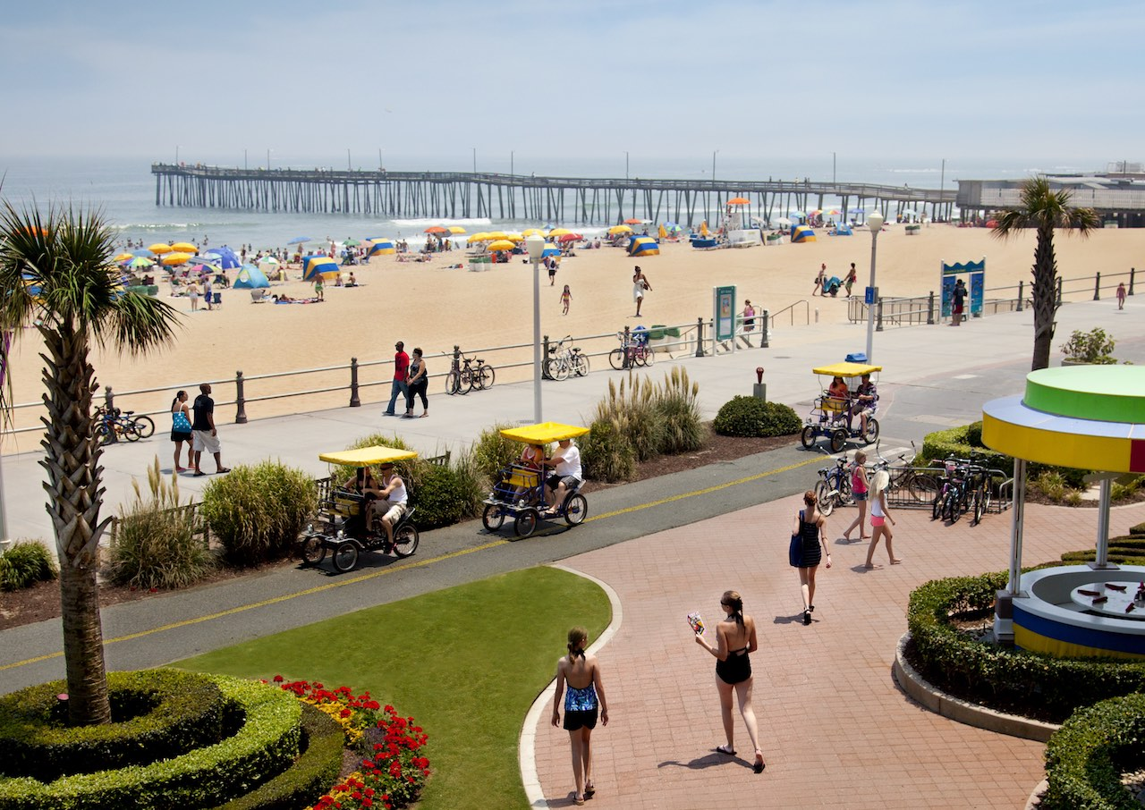 Resort Beach_Boardwalk_Surrey_Virginia Beach CVB