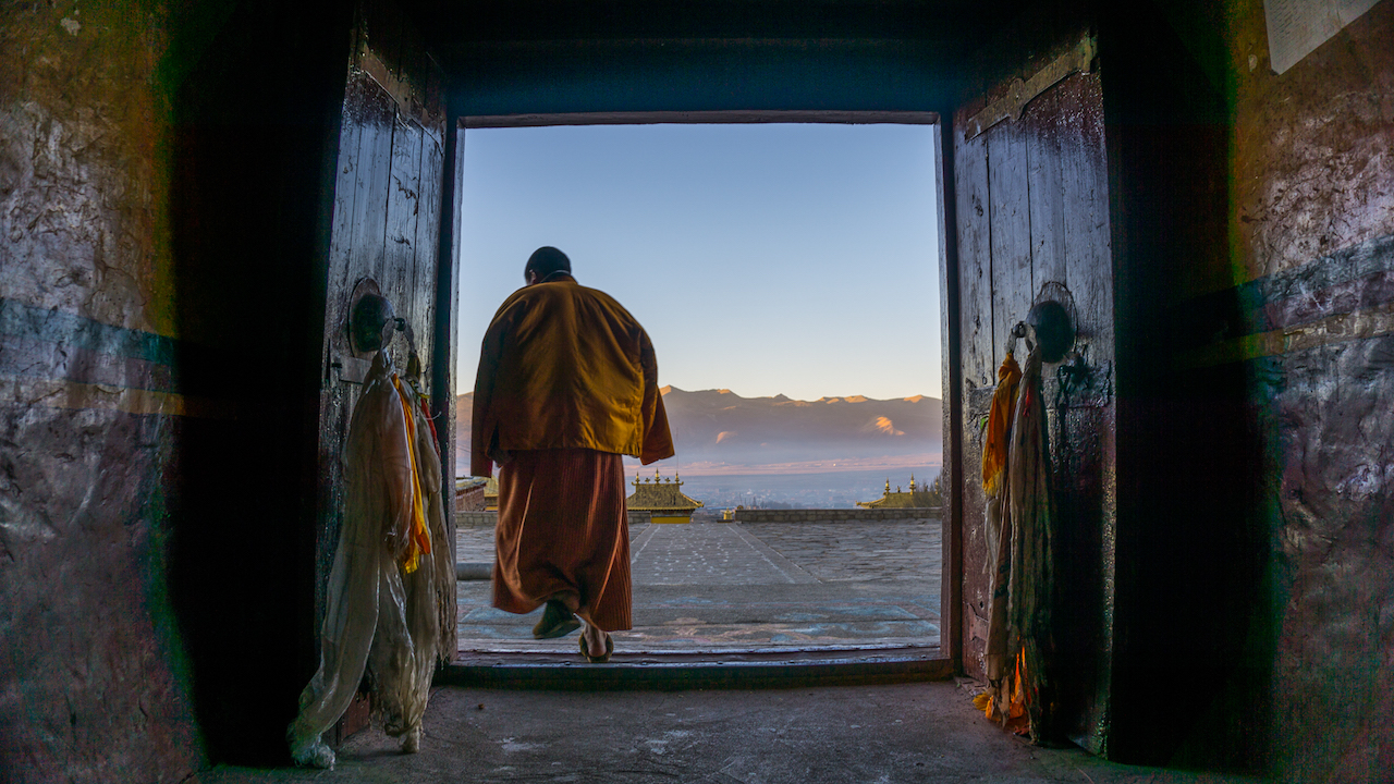 Tibet without the permit