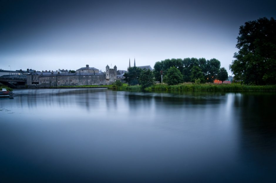Enniskillen Castle reflection Ireland