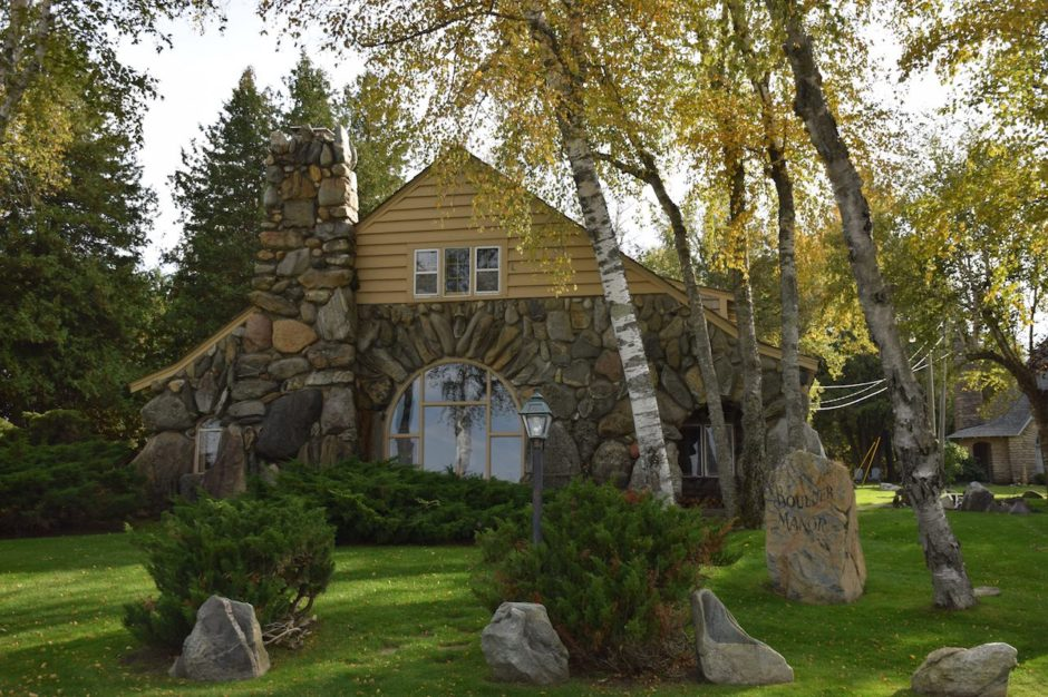 Hobbit house Charlevoix Michigan