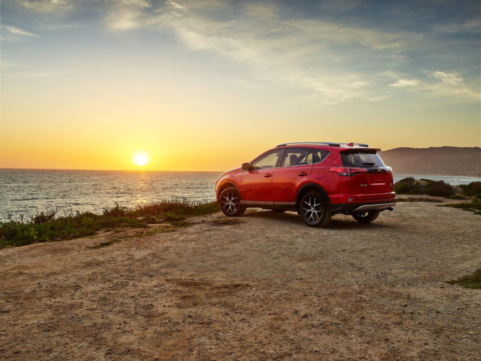 Rav4 sunset
