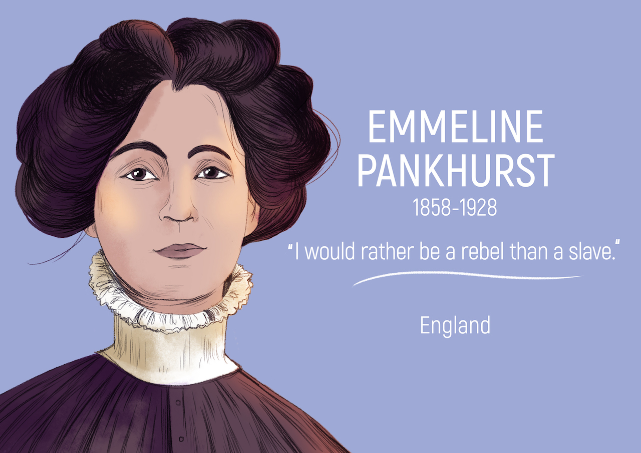 emmeline pankhurst brief essay Anti essays offers essay examples to help students with their essay writing the author of this speech is emmeline pankhurst brief moment of freedom.