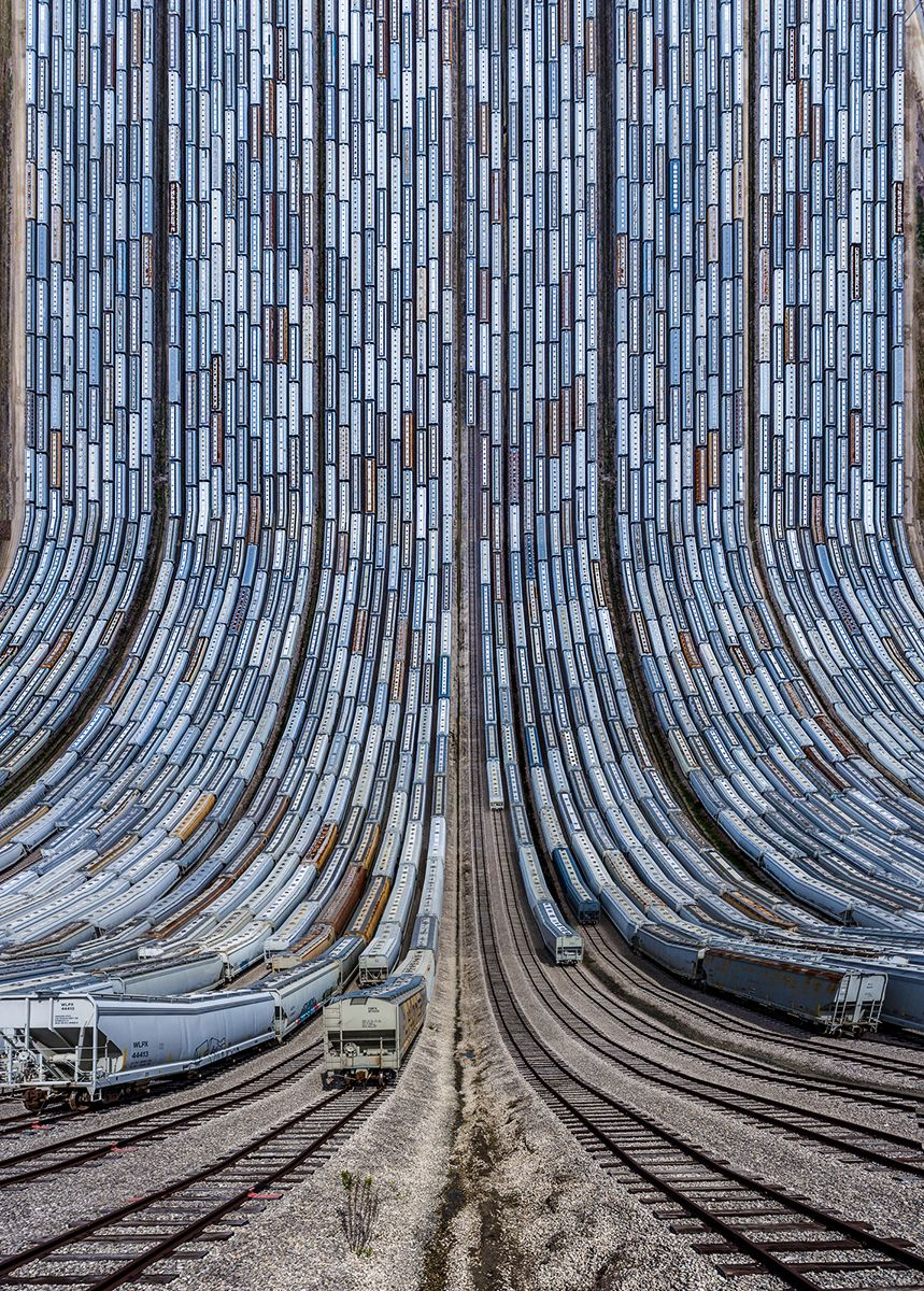 BNSF Yard in Texas