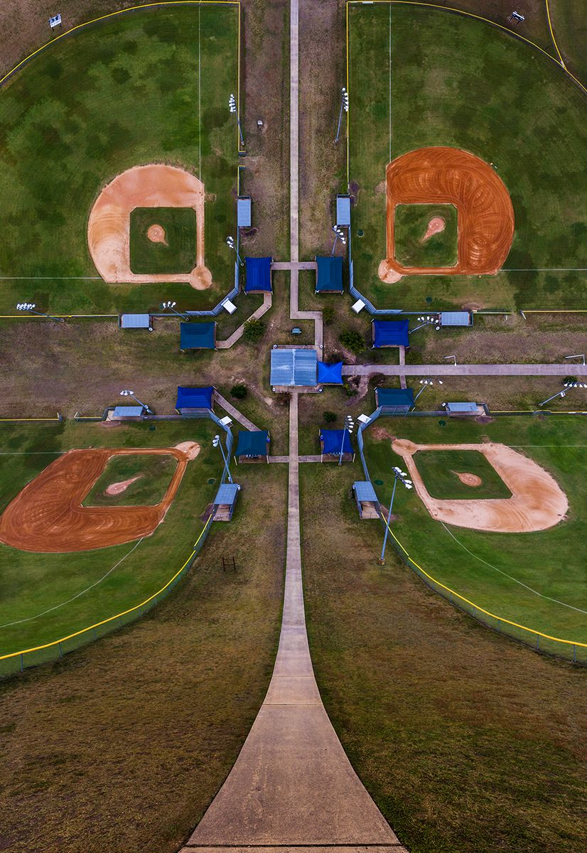 Baseball fields in New Mexico