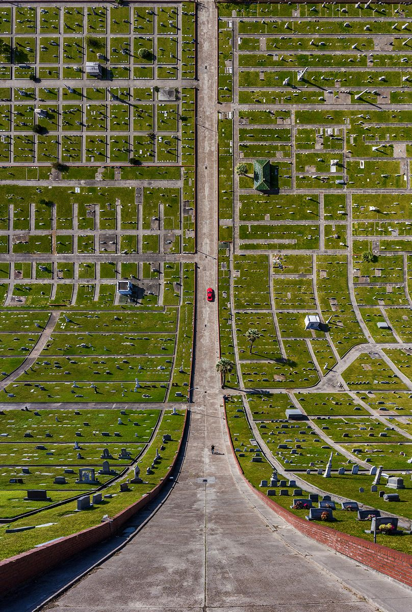 Cemetery in Texas