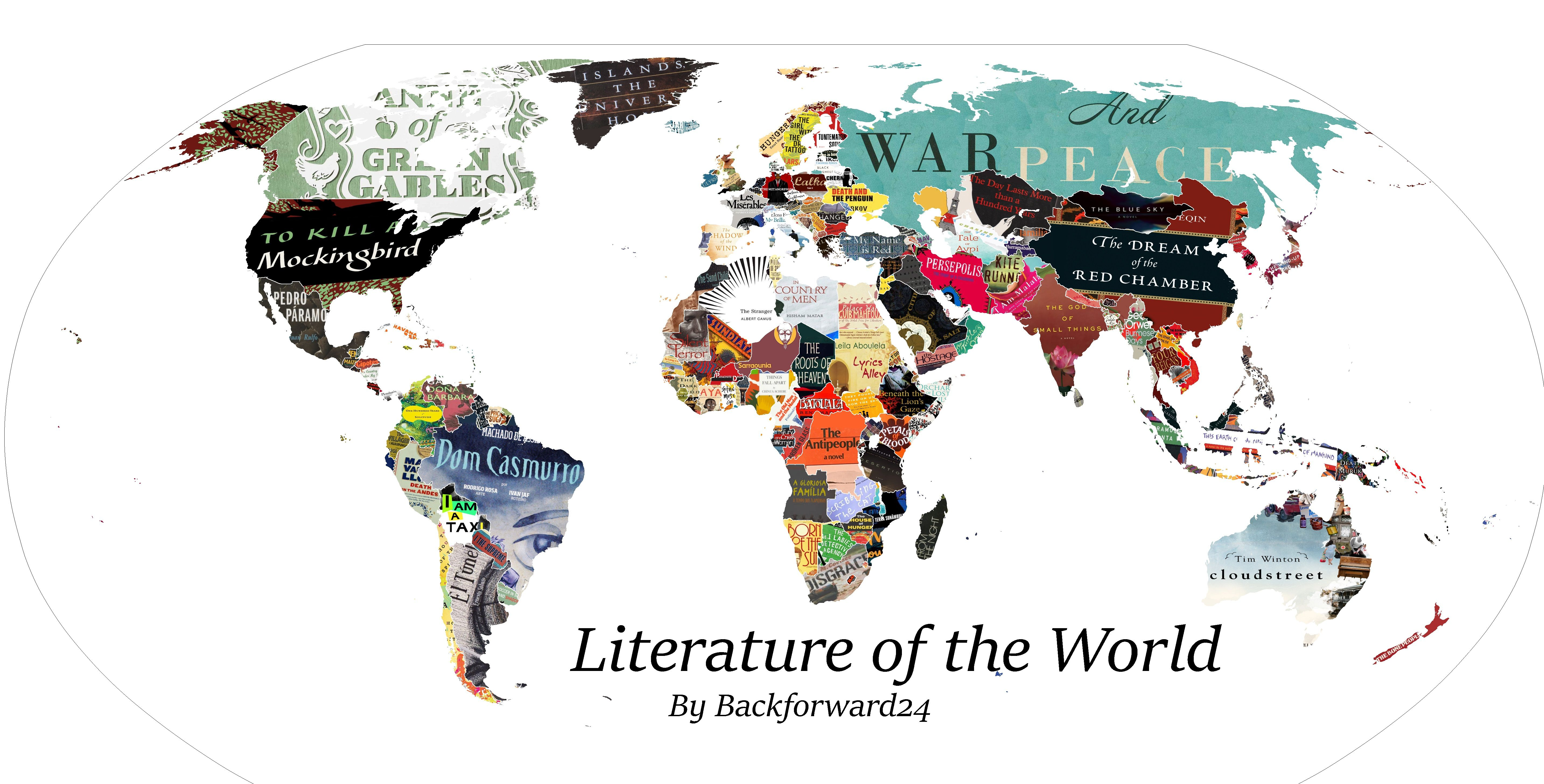 book map of the world