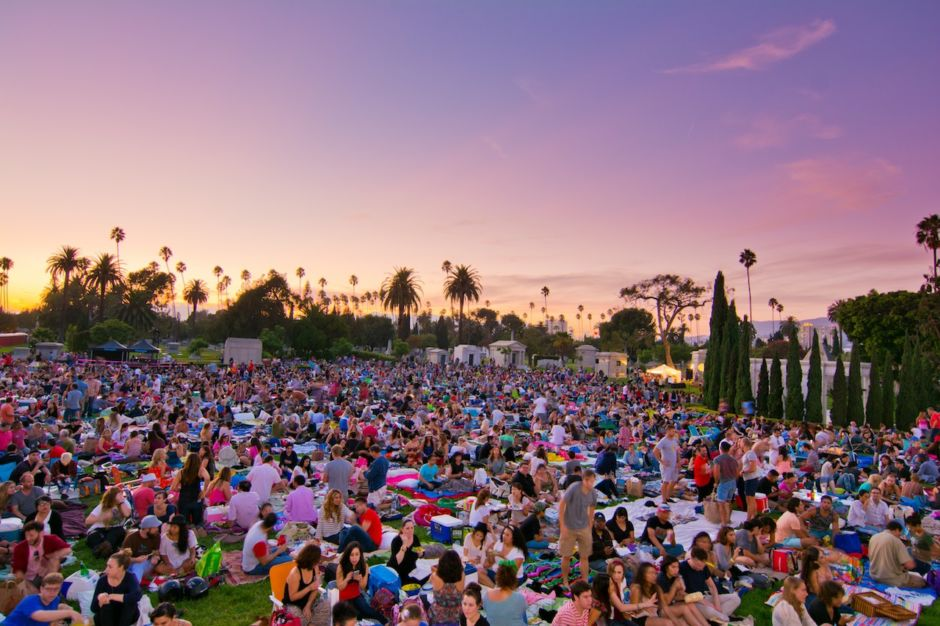 Cinespia at Hollywood Forever Los Angeles