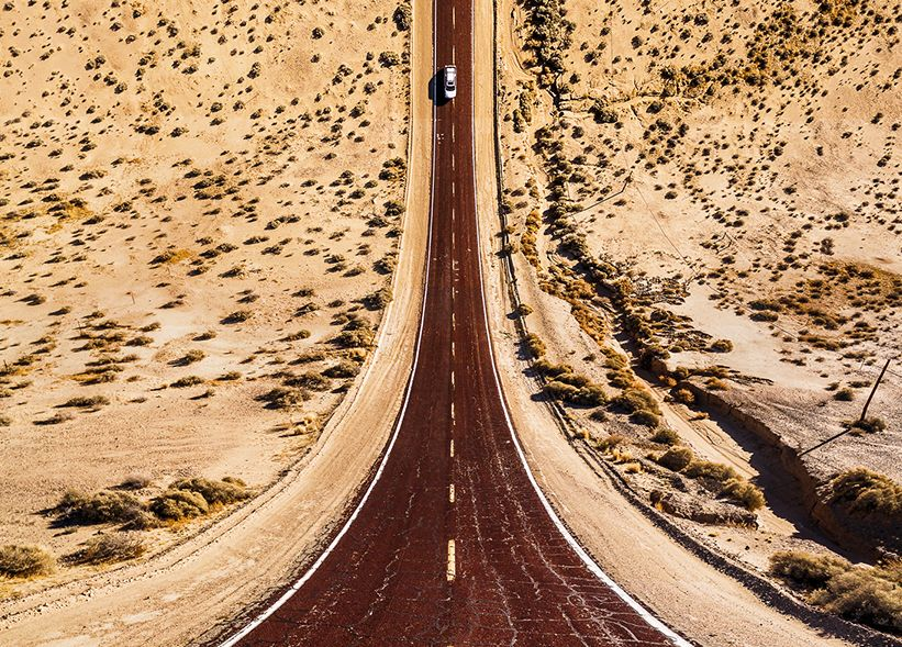 These dizzying photos give a fresh perspective on common American landscapes