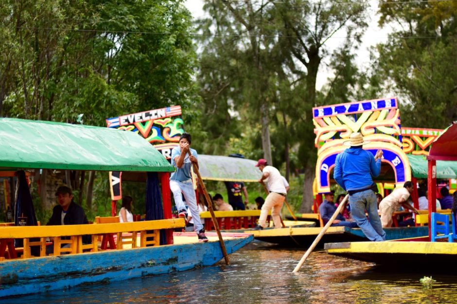 Xochimilco trajineras Mexico City