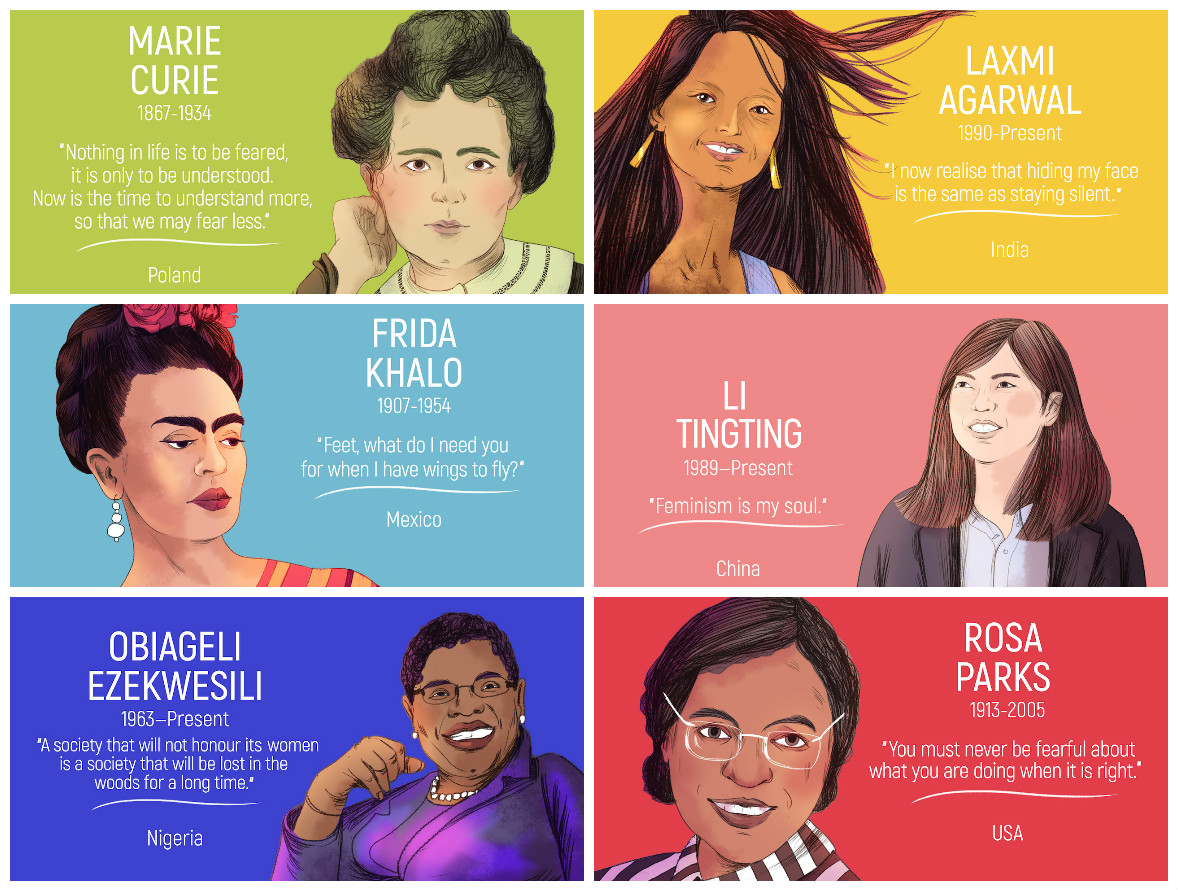 10 Inspirational Women from Around the World